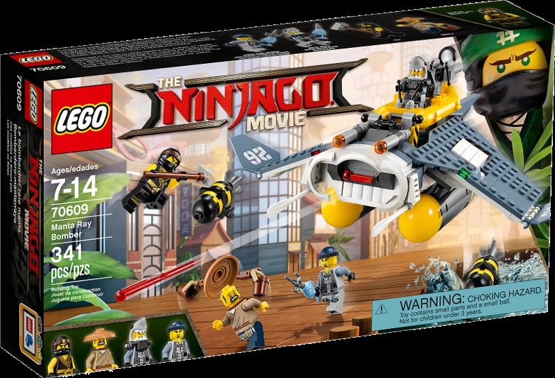 LEGO® NINJAGO® Movie 70609 - Mantarochen-Flieger