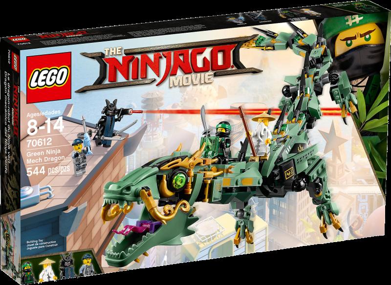 LEGO® NINJAGO® Movie 70612 - Mech-Drache des Grünen Ninja