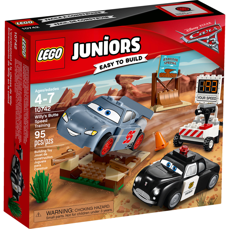 LEGO® Juniors 10742 - Rasante Trainingsrunden in der Teufelsschanze