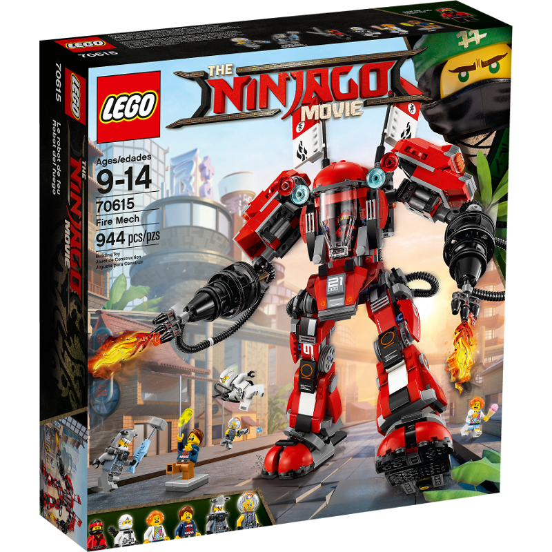 LEGO® NINJAGO® Movie 70615 - Kai's Feuer-Mech