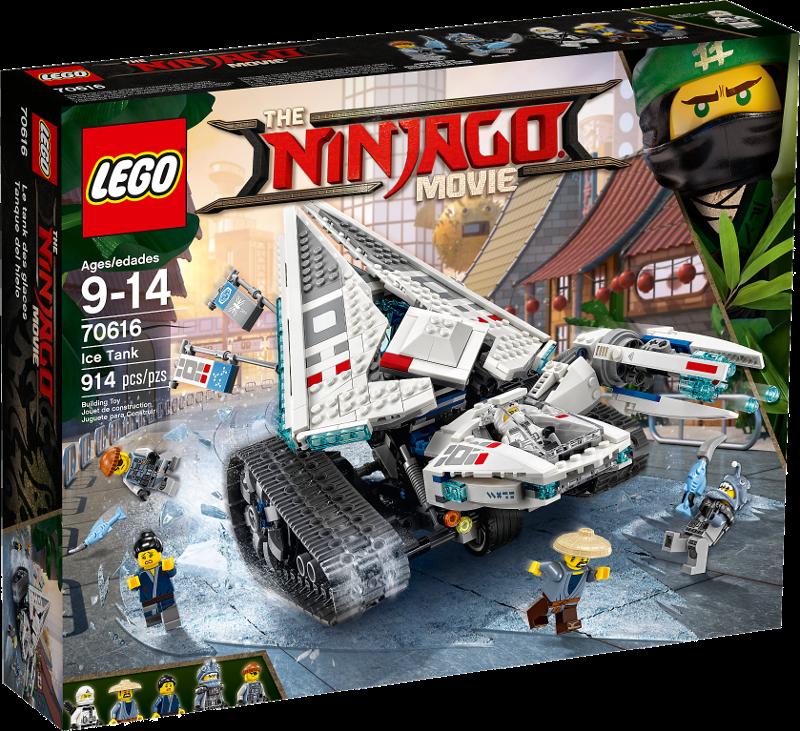 LEGO® NINJAGO® Movie 70616 - Zane's Eis-Raupe