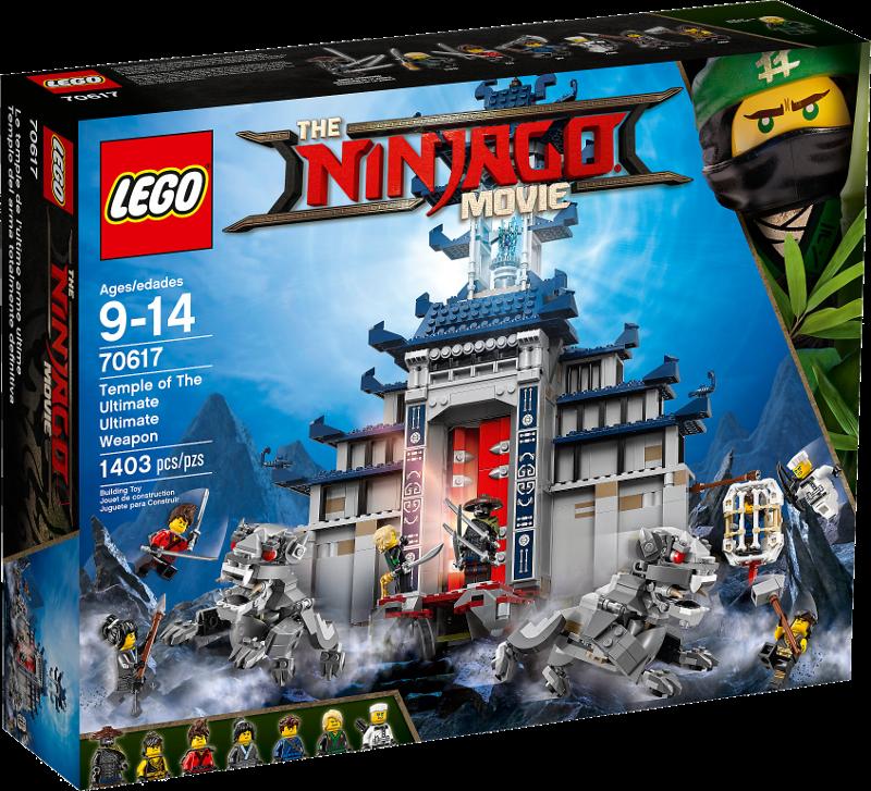LEGO® NINJAGO® Movie 70617 - Ultimativ ultimatives Tempel-Versteck