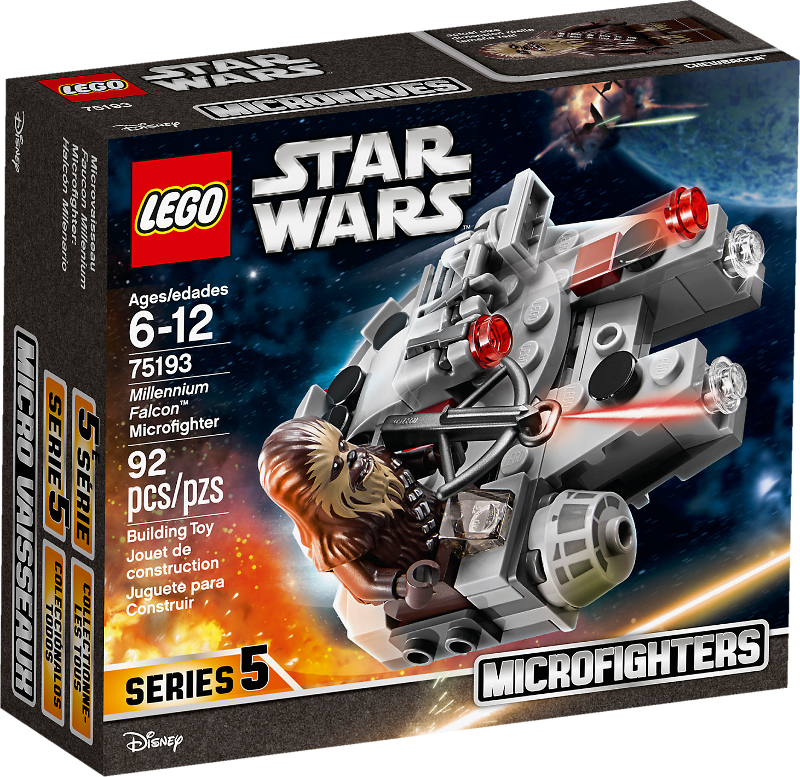 LEGO® Star Wars™ 75193 - Millennium Falcon™ Microfighter