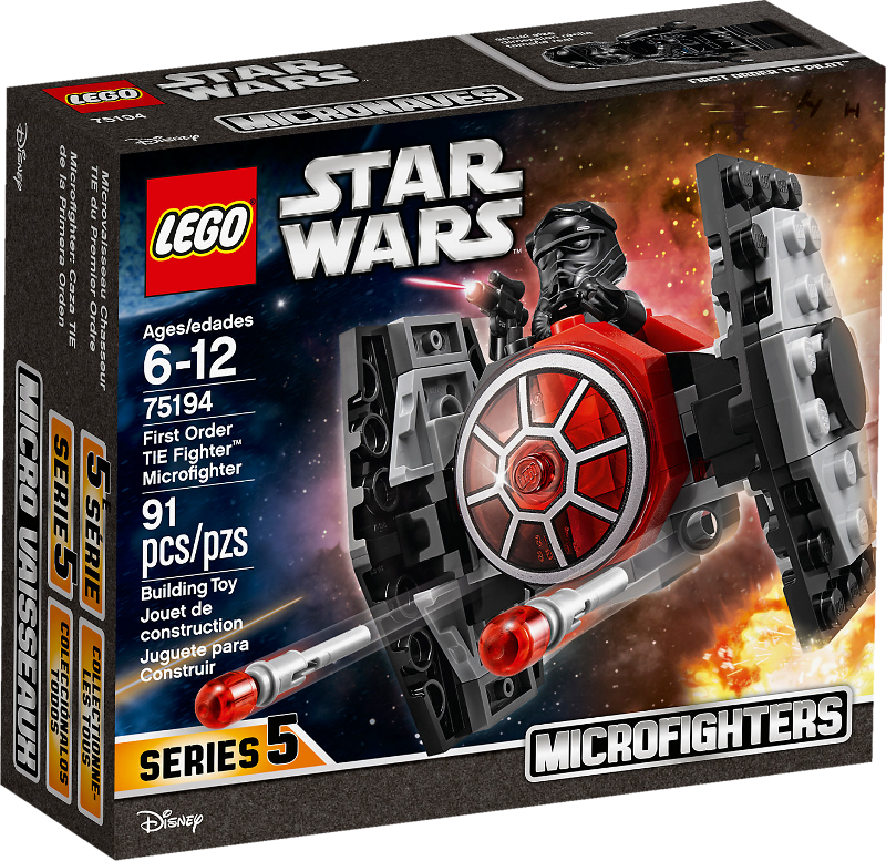 LEGO® Star Wars™ 75194 - First Order TIE Fighter™ Microfighter
