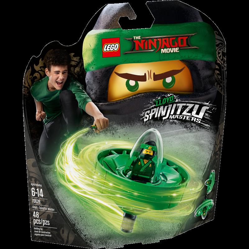 LEGO® NINJAGO® 70628 - Spinjitzu-Meister Lloyd
