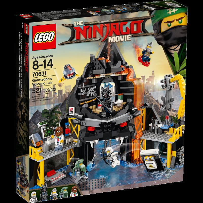 LEGO® NINJAGO® 70631 - Garmadons Vulkanversteck