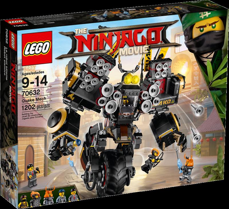LEGO® NINJAGO® 70632 - Coles Donner-Mech