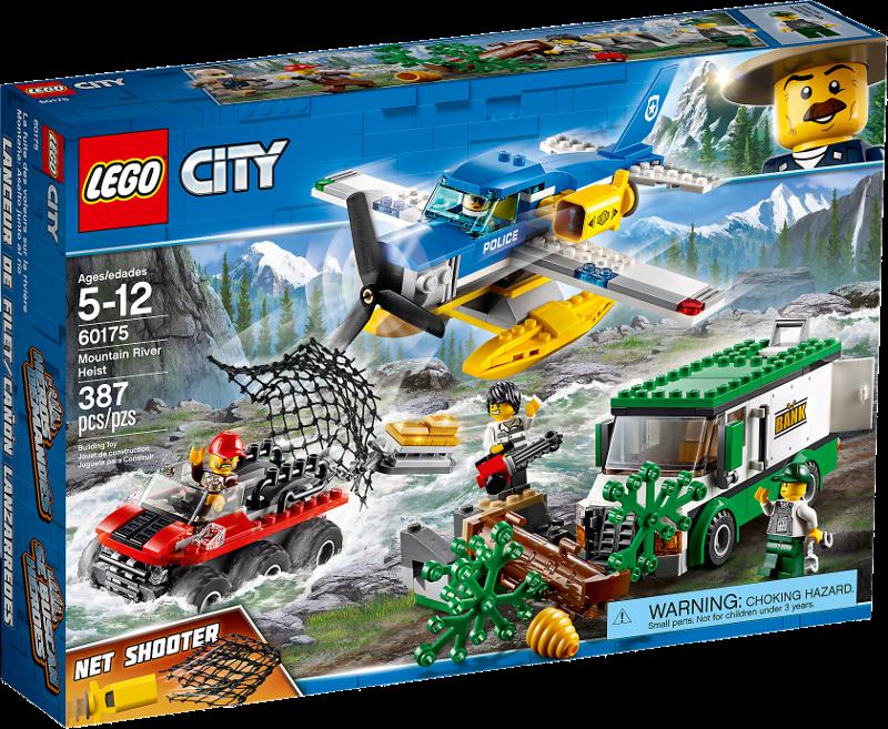 LEGO® City 60175 - Überfall auf dem Gebirgsfluss