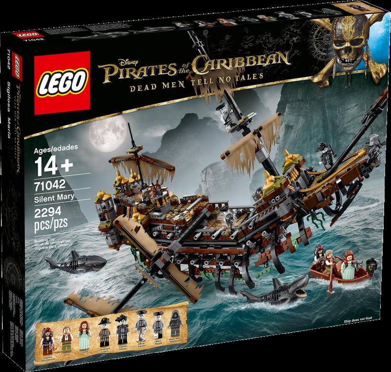 LEGO® Disney Pirates of the Caribbean 71042 - Silent Mary