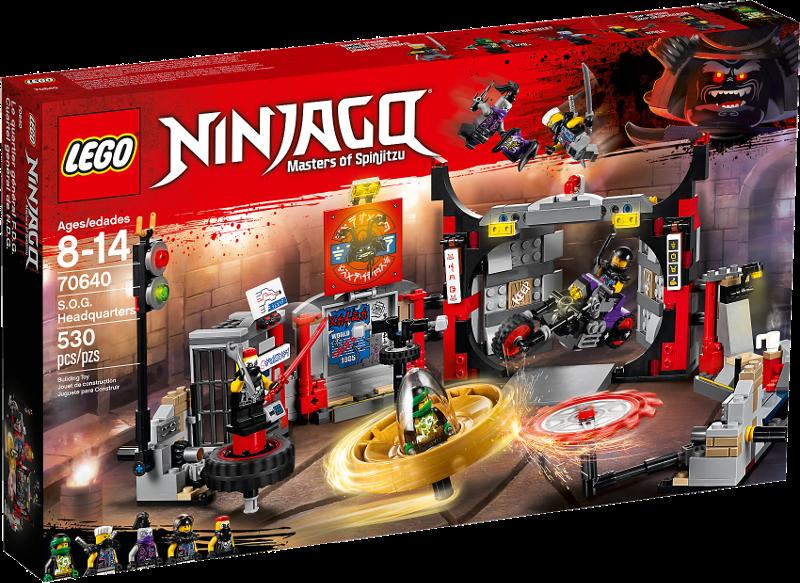LEGO® NINJAGO® 70640 - Hauptquartier der Motorradfahrer