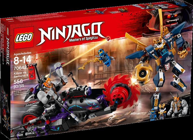 LEGO® NINJAGO® 70642 - Killow gegen Samurai X