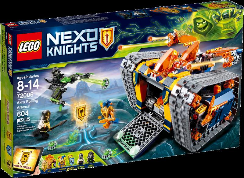 LEGO® NEXO KNIGHTS™ 72006 - Axls Donnerraupe