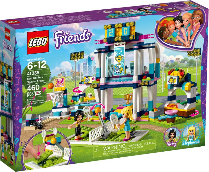LEGO® Friends 41338 - Stephanies Sportstadion