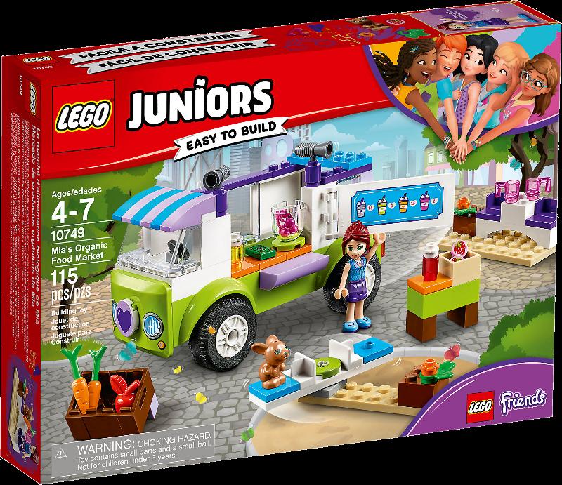 LEGO® Juniors 10749 - Mias Bio Foodtruck