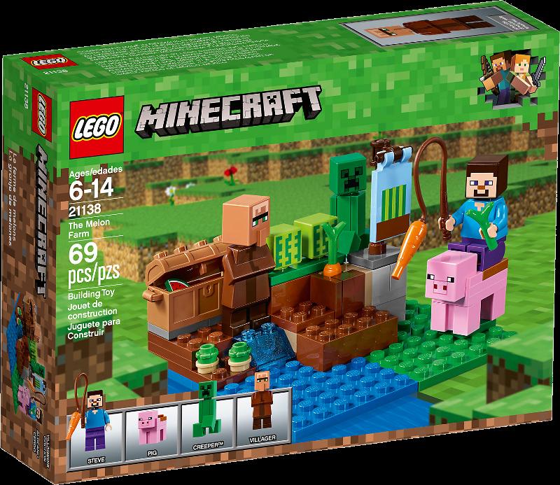 LEGO® Minecraft 21138 - Melonenplantage