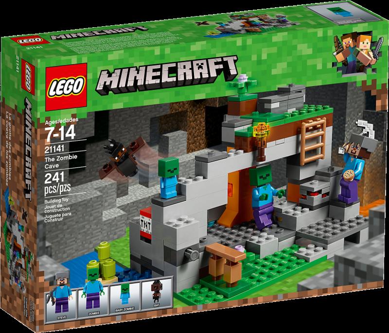 LEGO® Minecraft 21141 - Zombiehöhle