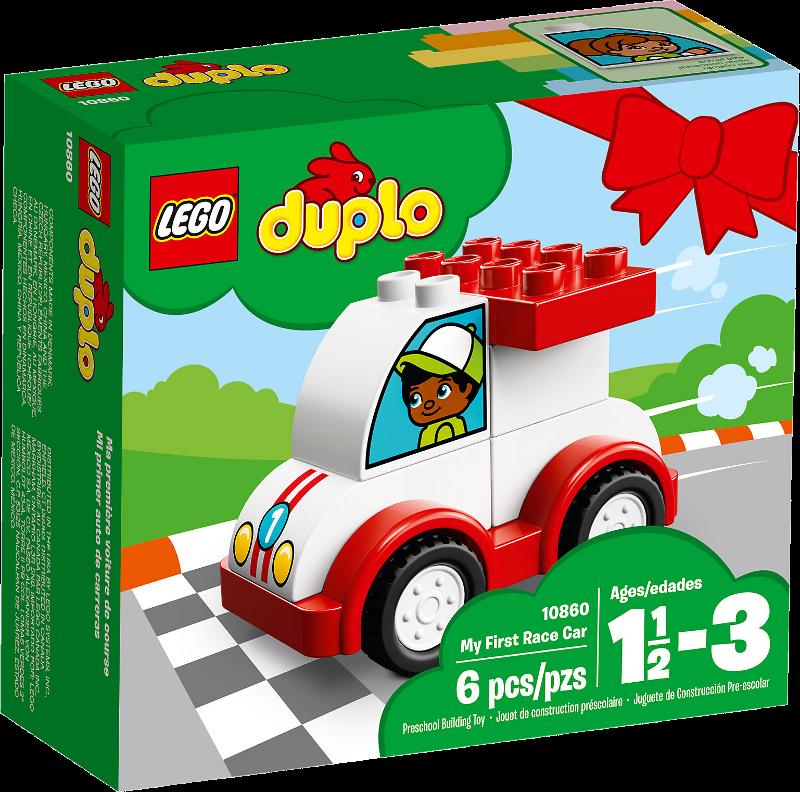 LEGO® DUPLO® 10860 - Mein erstes Rennauto
