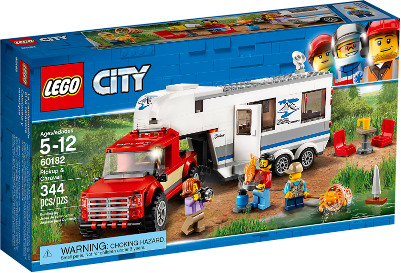 LEGO® City 60182 - Pickup & Wohnwagen