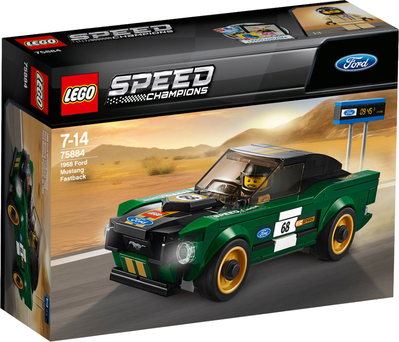 LEGO® Speed Champions 75884 - 1968 Ford Mustang Fastback