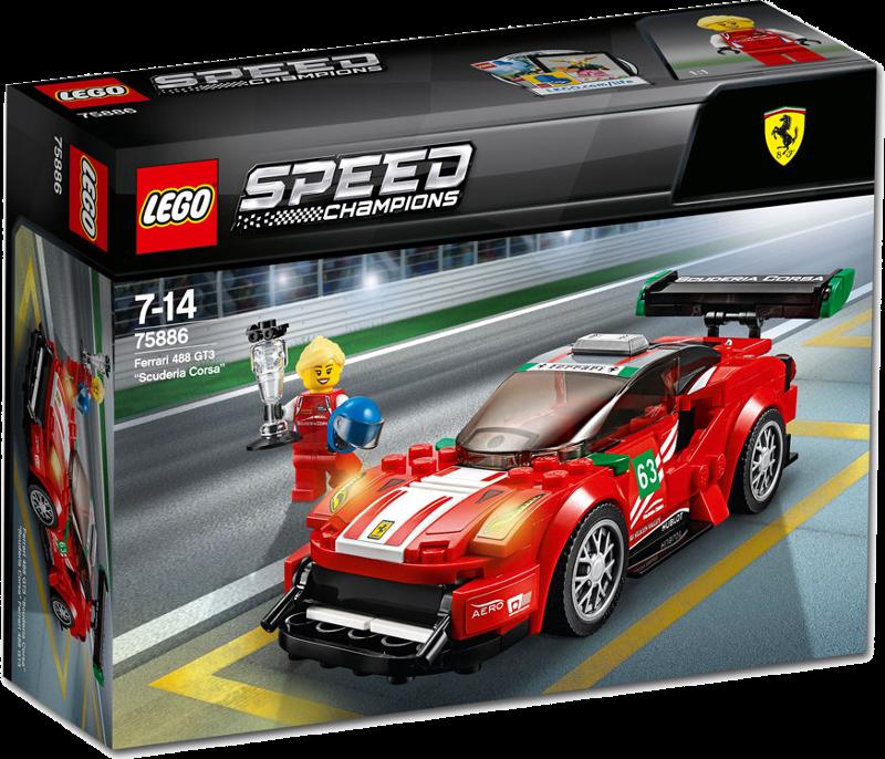 LEGO® Speed Champions 75886 - Ferrari 488 GT3 Scuderia Corsa