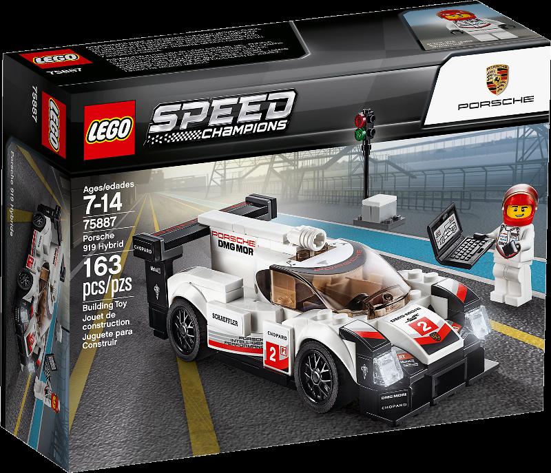 LEGO® Speed Champions 75887 - Porsche 919 Hybrid