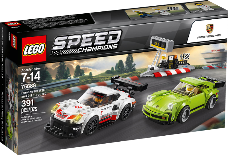 LEGO® Speed Champions 75888 - Porsche 911 RSR und 911 Turbo 3.0