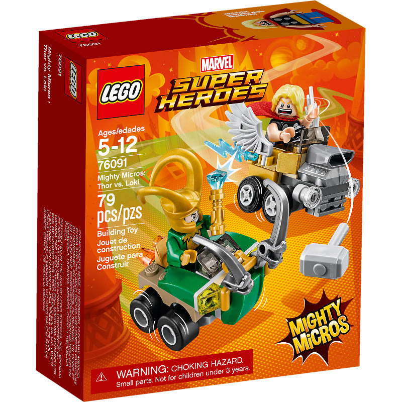 LEGO® Super Heroes 76091 - Mighty Micros: Thor vs. Loki