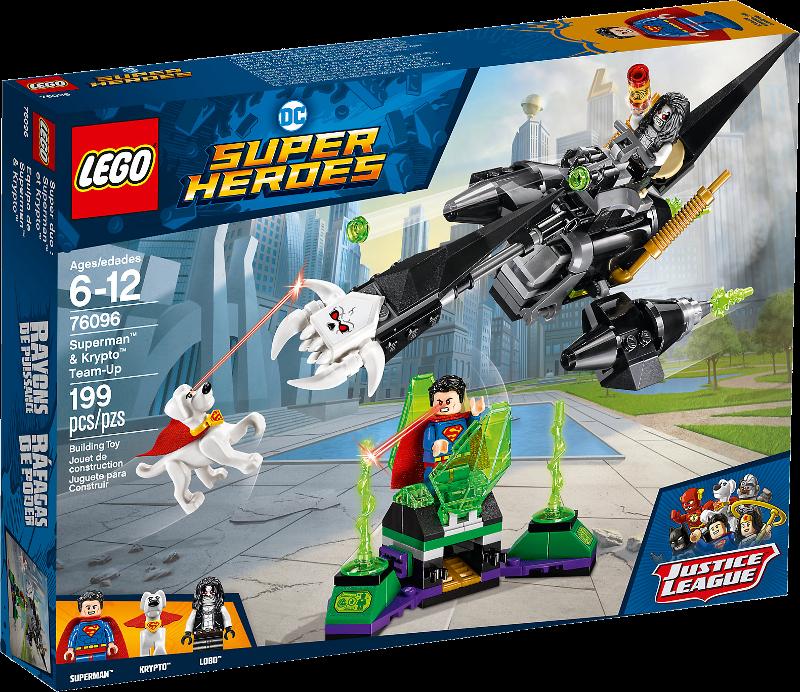 LEGO® Super Heroes 76096 - Superman™ & Krypto™ Team-Up