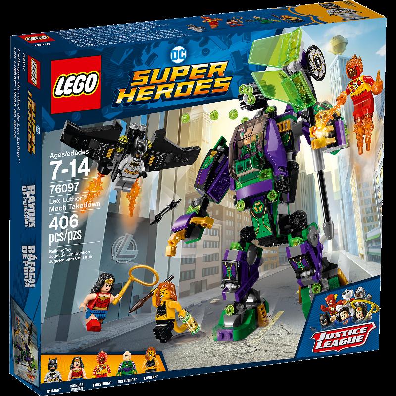 LEGO® Super Heroes 76097 - Lex Luthor™ Mech