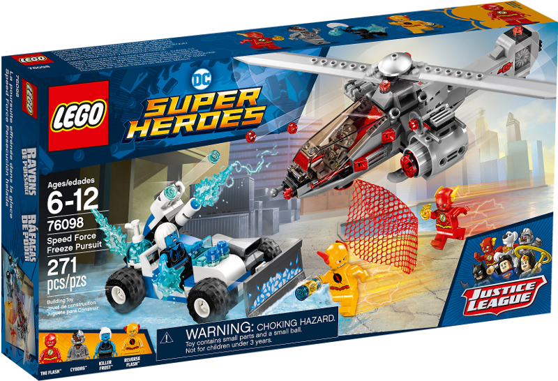 LEGO® Super Heroes 76098 - Speed Force Freeze Verfolgungsjagd
