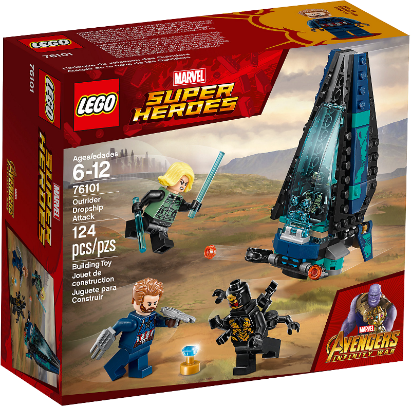 LEGO® Super Heroes 76101 - Outrider Dropship-Attacke