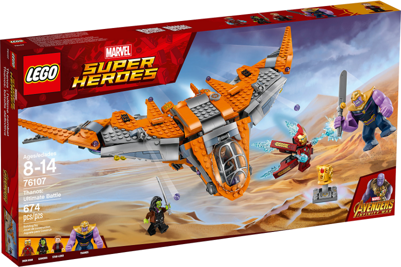 LEGO® Super Heroes 76107 - Thanos: Das ultimative Gefecht