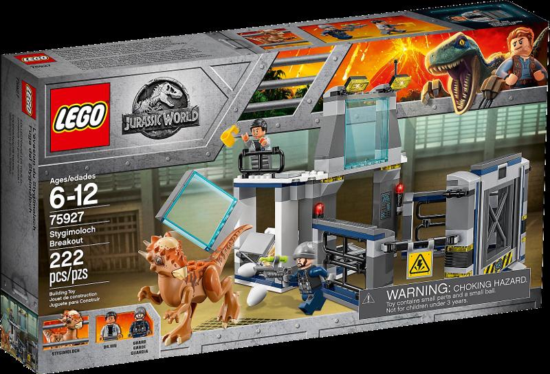 LEGO® Jurassic World 75927 - Ausbruch des Stygimoloch