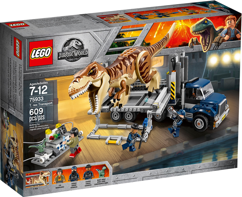 LEGO® Jurassic World 75933 - T. rex Transport