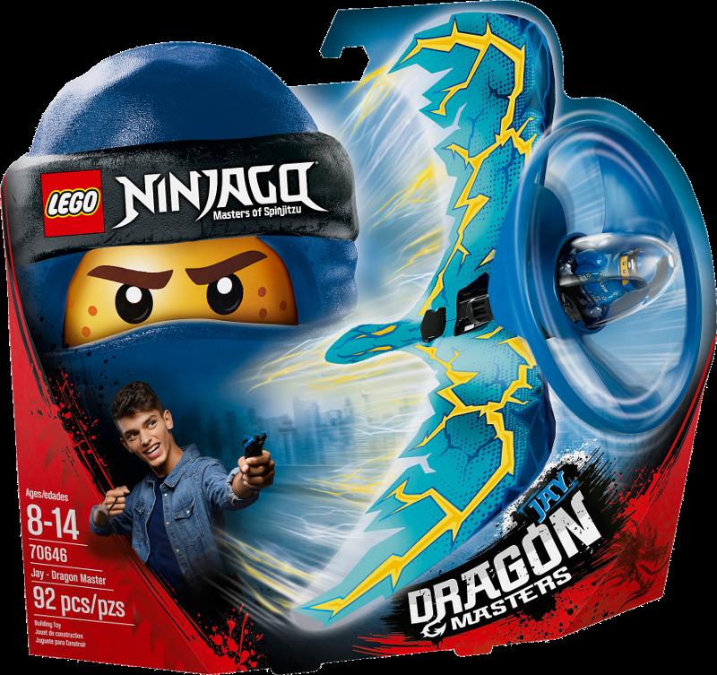 LEGO® NINJAGO® 70646 - Drachenmeister Jay