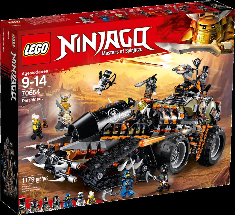 LEGO® NINJAGO® 70654 - Drachen-Fänger