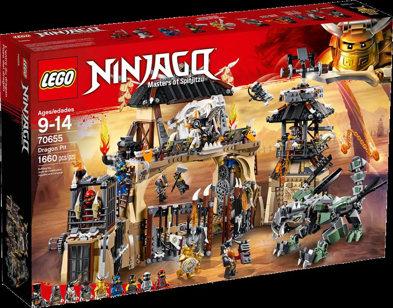 LEGO® NINJAGO® 70655 - Drachengrube