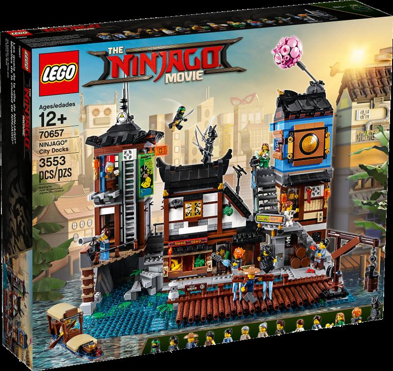 LEGO® NINJAGO® 70657 - NINJAGO® City Hafen