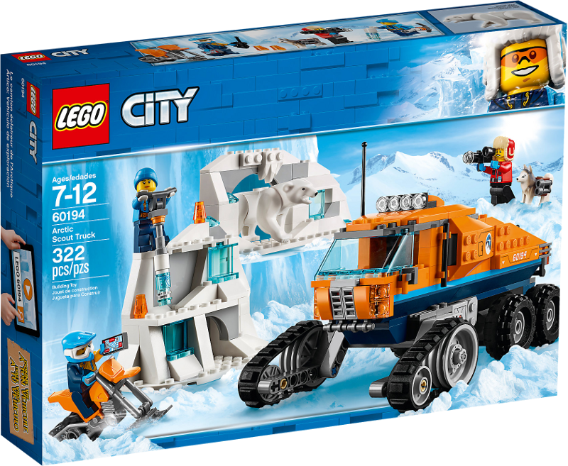 LEGO® City 60194 - Arktis-Erkundungstruck