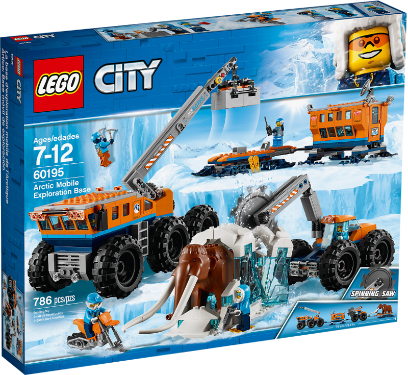 LEGO® City 60195 - Mobile Arktis-Forschungsstation