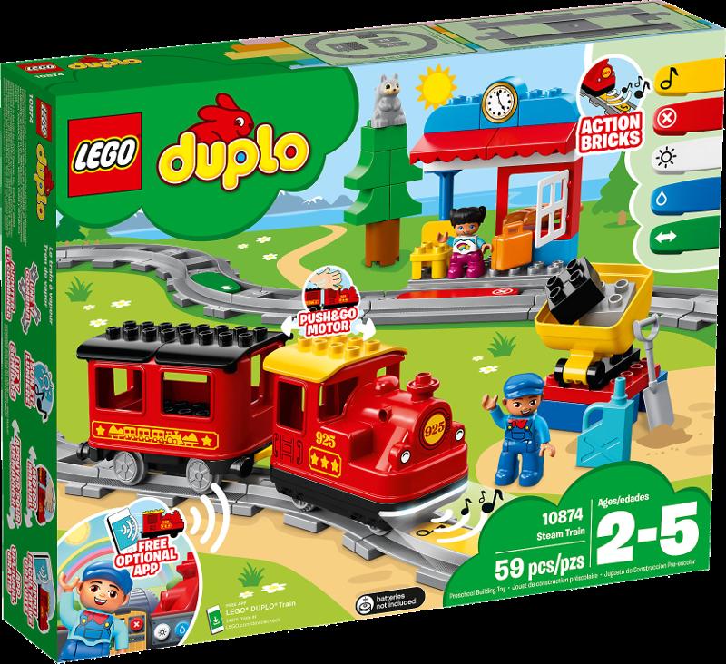 LEGO® DUPLO® 10874 - Dampfeisenbahn
