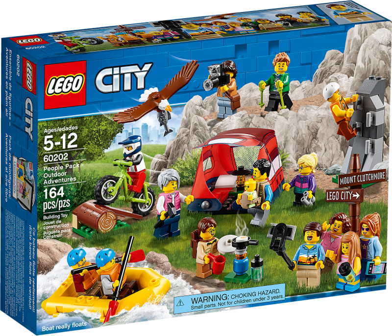 LEGO® City 60202 - Stadtbewohner - Outdoor-Abenteuer