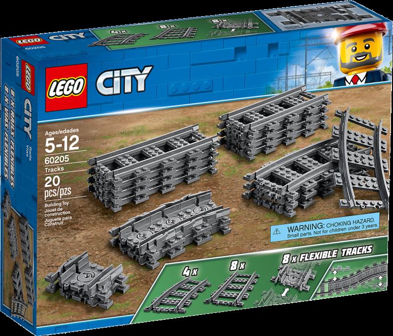 LEGO® City 60205 - Schienen