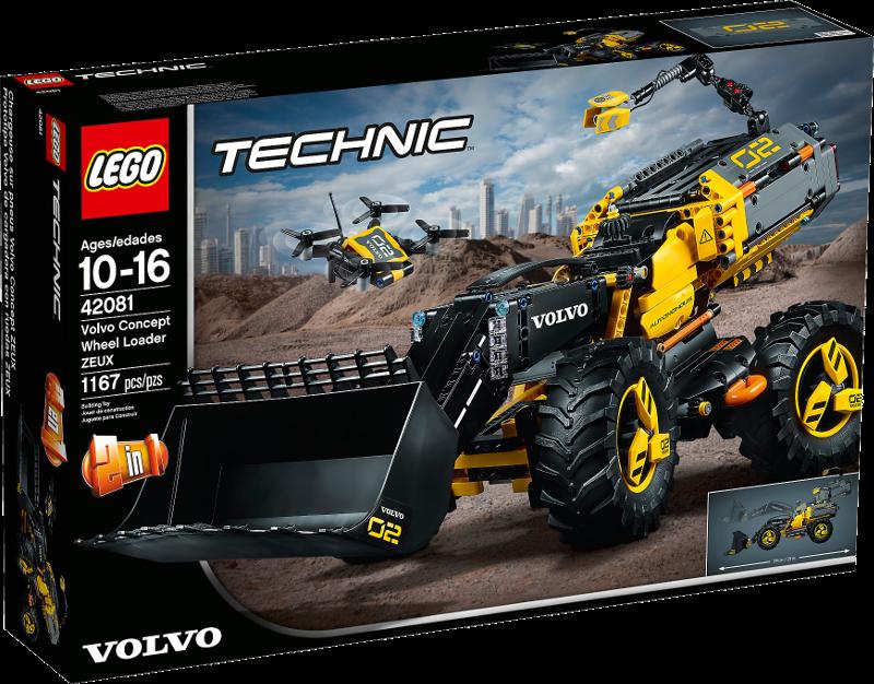 LEGO® Technic 42081 - Volvo Konzept-Radlader ZEUX