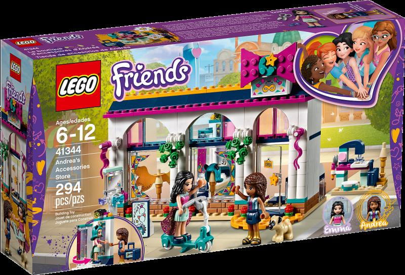 LEGO® Friends 41344 - Andreas Accessoire-Laden