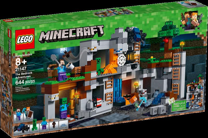 LEGO® Minecraft 21147 - Abenteuer in den Felsen