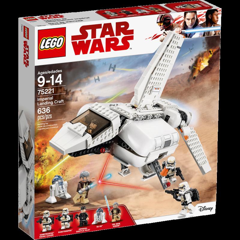 LEGO® Star Wars™ 75221 - Imperiale Landefähre