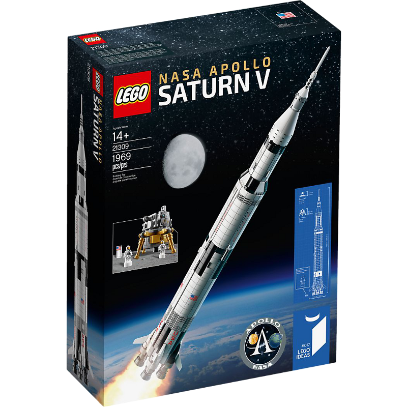 LEGO® Ideas 21309 - NASA Apollo Saturn V