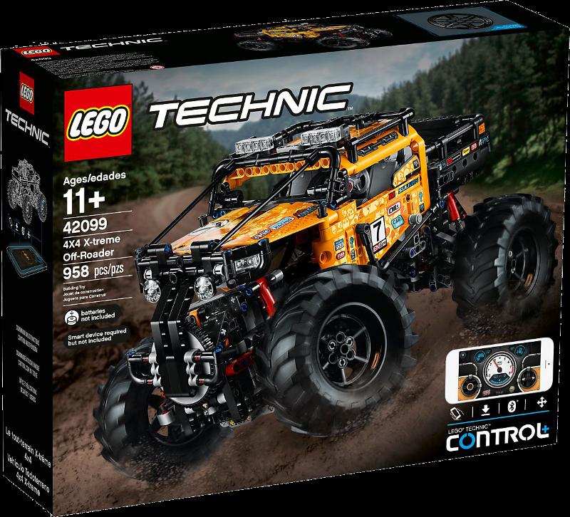 LEGO® Technic 42099 - Allrad Xtreme-Geländewagen
