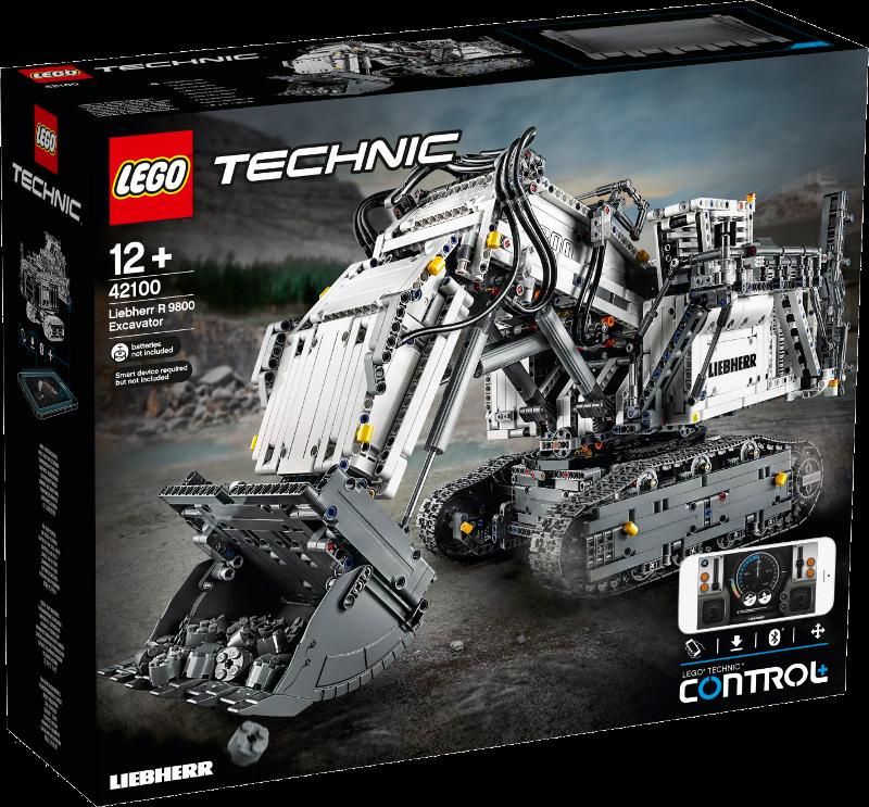 LEGO® Technic 42100 - Liebherr R 9800
